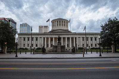 Photograph - Ohio Statehouse Columbus Ohio by John McGraw