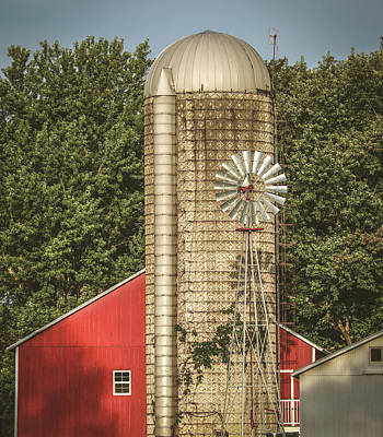 Photograph - Ohio Vintage Farm by Dan Sproul