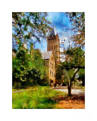 Ohio Wesleyan Chapel Art Print