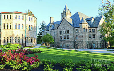 Photograph - Ohio Wesleyan University 0856 by Jack Schultz