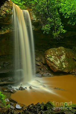 Photograph - Ohiopyle Gem by Adam Jewell