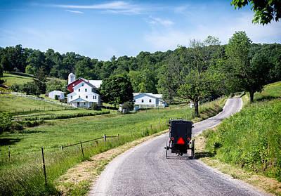 Farm Photograph - Ohio's Amish Country by Matt Hammerstein