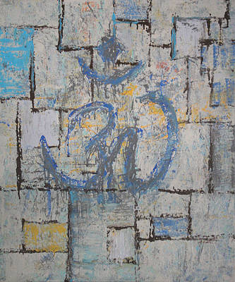 The Universe Painting - Ohm-maze by Alan Schwartz