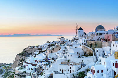Photograph - Oia, Santorini - Greec by Stavros Argyropoulos