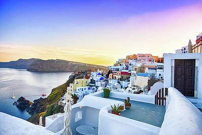 Oia, Santorini - Greece Art Print
