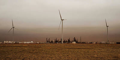 Photograph - Oil And Wind by Scott Cordell
