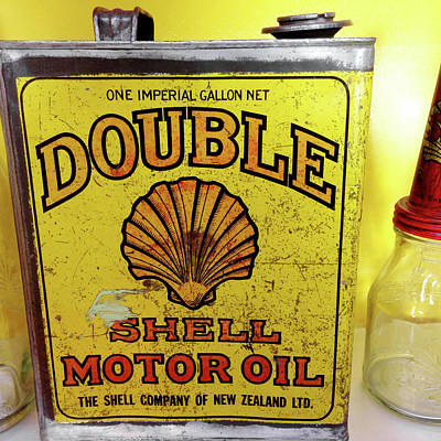 Oil Can Photograph - Oil Can by Les Cunliffe