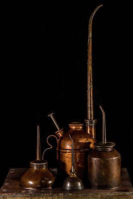 Oil Cans Art Print by Paul Freidlund