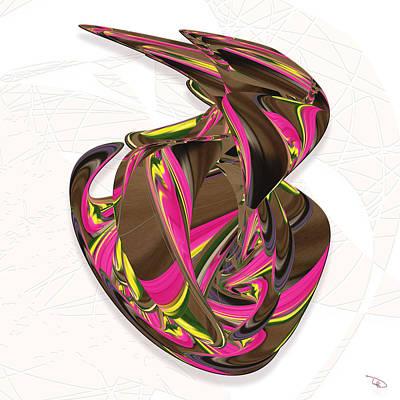 Digital Art - Oil Change by Warren Lynn