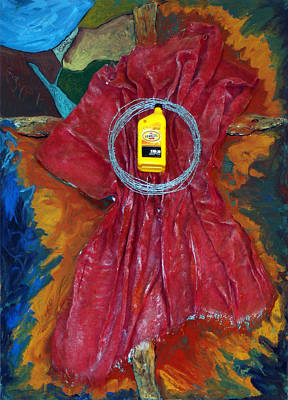 Jewelry - Oil Cloth by Banning Lary