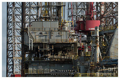 Photograph - Oil Industry by Jorgen Norgaard