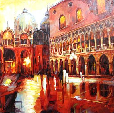 Painting - Oil Msc 0108 by Mario Sergio Calzi