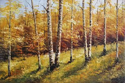 Oil Msc 028 Art Print
