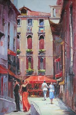 Oil Msc 043 Art Print