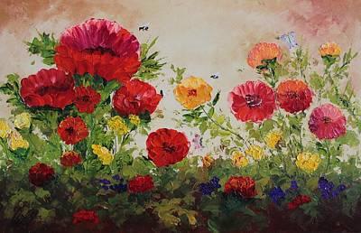 Oil Msc 060 Art Print