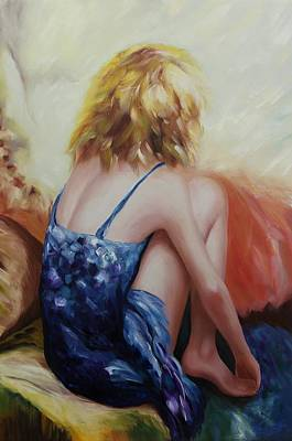 Painting - Oil Msc 076 by Mario Sergio Calzi