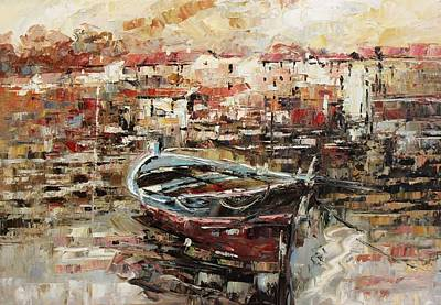 Painting - Oil Msc 124 by Mario Sergio Calzi
