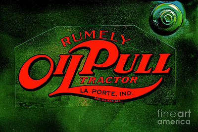 Photograph - Oil Pull Tractor by Paul W Faust -  Impressions of Light
