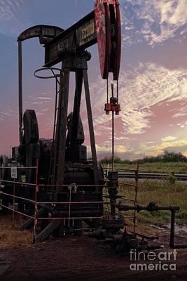Jack Drill Digital Art - Oil Pump by Ella Kaye Dickey