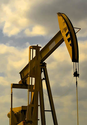 Photograph - Oil Pumpjack II by Ricky Barnard