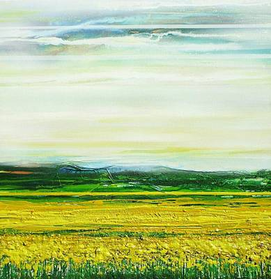 Oil Seed Rape Tyndale No3 Art Print by Mike   Bell