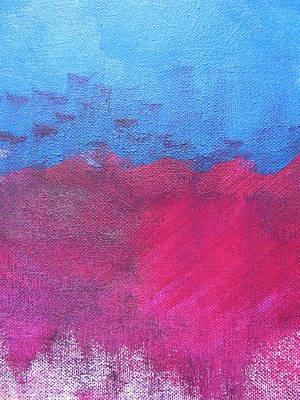 Sea Birds Painting - Oil Wave by Lindie Racz