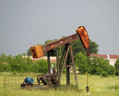 Photograph - Oil Well 2 by Sheri LaBarr