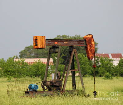 Photograph - Oil Well by Sheri LaBarr