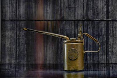 Oilcan 01 Original by Heiko Hellwig