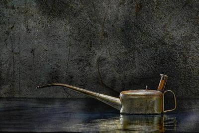 Oilcan 03 Original by Heiko Hellwig