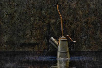 Oilcan 04 Original by Heiko Hellwig