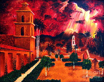 Ojai Red I Art Print by Chris Haugen