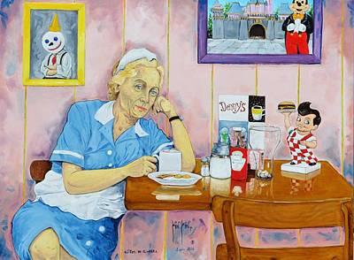 Huevos Painting - Ojitos De Ginebra. Gin Eyes. by Juan Manuel Rocha Kinkin