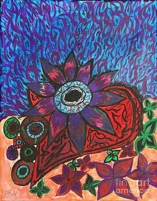 Painting - Ojo Heartbeat by Artists With Autism Inc