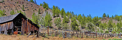 Photograph - Ok Corral by Ansel Price