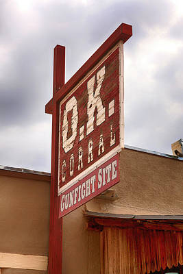 Photograph - O.k. Corral by Chris Smith
