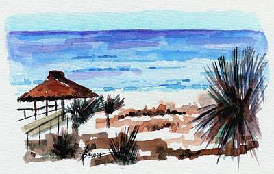 Painting - Okaloosa Island, Florida by Adele Bower