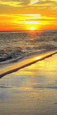 Photograph - Okaloosa Triptych 1 by JC Findley