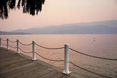 Photograph - Okanagan Boardwalk by Monte Arnold