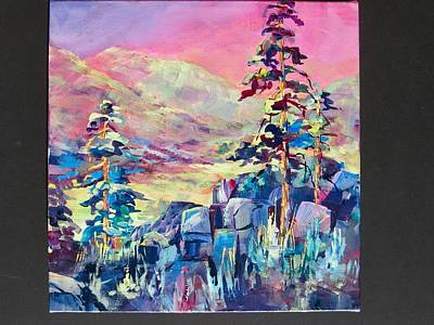Painting - Okanagan Colours by Bonny Roberts