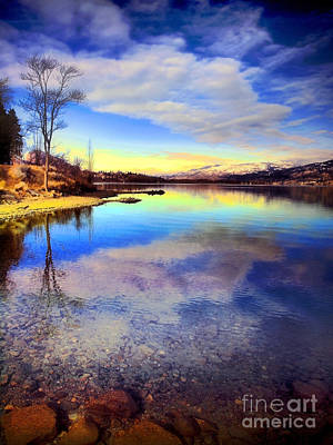 Okanagan Lake Photograph - Okanagan Lake In The New Year by Tara Turner