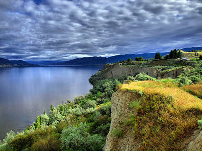 Okanagan Lake Photograph - Okanagan Lake On A Thursday by Tara Turner