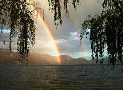 Digital Art - Okanagan Rainbow by Max DeBeeson