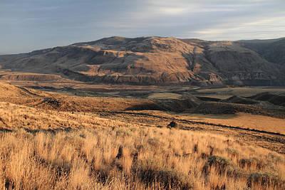 Okanagan Valley Sunset Glow Art Print by Pierre Leclerc Photography