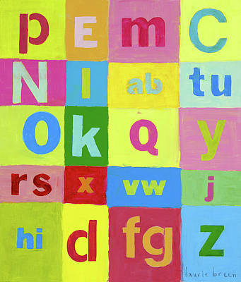 Okay Abcs Original by Laurie Breen