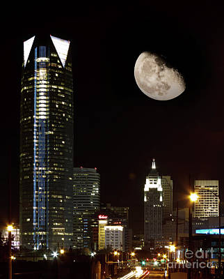 Photograph - Okc At Night by Richard Smith