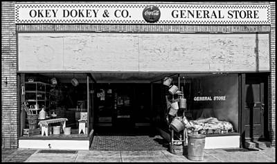 Digital Art - Okey Dokey General Store by Chris Flees