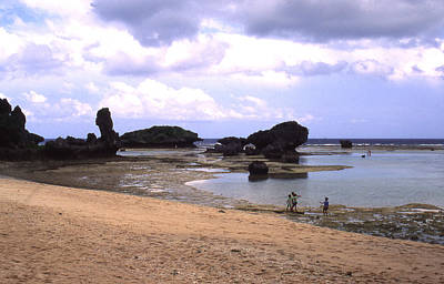 Photograph - Okinawa Beach 18 by Curtis J Neeley Jr