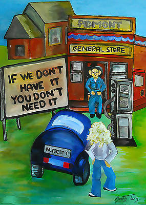 Painting - Oklahoma 79' by Gabby Tary