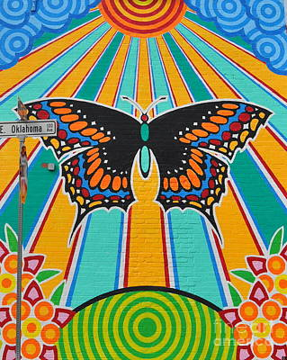 Photograph - Oklahoma Butterfly by Anjanette Douglas